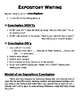 Expository Writing Introductions and Conclusions Resource Sheet