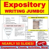 Expository Writing JUMBO PowerPoint