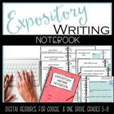 Expository Writing Journal {Google Classroom & One Drive} Digital Resource