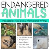 Informational Writing: Endangered Animals