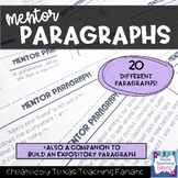 Expository Writing Mentor Paragraphs