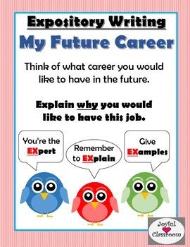 Expository Writing- My Future Career