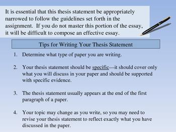 Expository Writing Presentation - AP English
