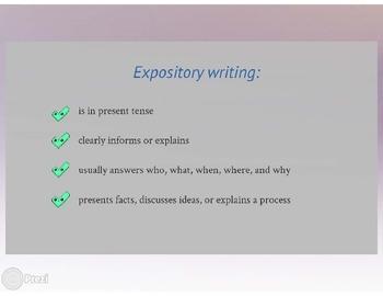 Expository Writing Prezi
