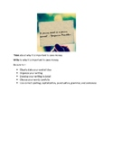 Expository Writing Prompt Packet