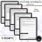 Expository Writing Prompts (6th, 7th, 8th Grade)