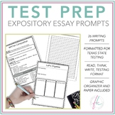 Expository Writing Prompts — STAAR Test Prep