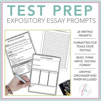 Expository Prompts Staar Worksheets Teaching Resources TpT