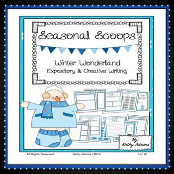 Expository Writing Prompts Winter