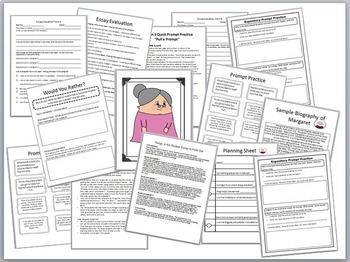 Expository Writing Prompts and Practice for Standardized Testing
