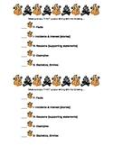 Expository Writing Rubrics Grades 2-4