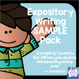 Expository Writing SAMPLE Pack