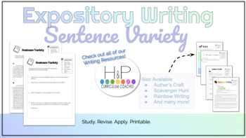 Expository Writing: Sentence Variety