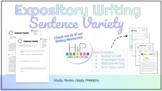 Expository Writing: Sentence Variety