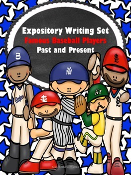 Expository Writing Set- Famous Baseball Players