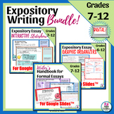 Expository Writing Unit for Distance Learning | Slideshow,