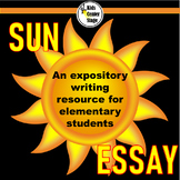 Expository Writing - Sun Essay:  Grades 2-4