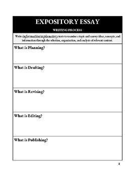 Expository Writing: Sweatshops (Worksheets)