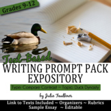 Explanatory Writing Prompt Pack, Compare and Contrast: Duck Dynasty