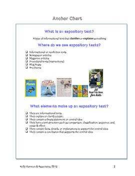 Expository Writing Teaching Packet