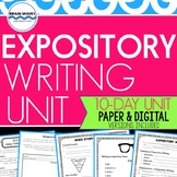 Expository Writing:  Informational News Story Writing abou