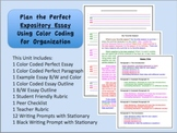 Expository Writing Unit with Best Selling Color Coded Organizer **REVISED**