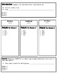 Expository Writing Vertical Boxes Graphic Organizer