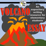Expository Writing - Volcano Essay:      Grades 2-4