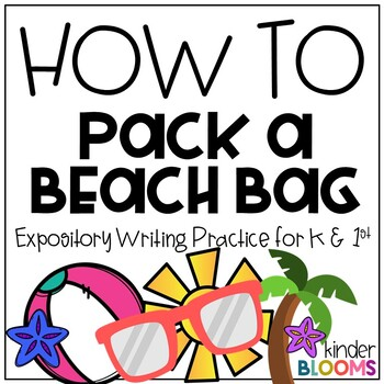 Expository Writing and How To Writing {Beach Day}