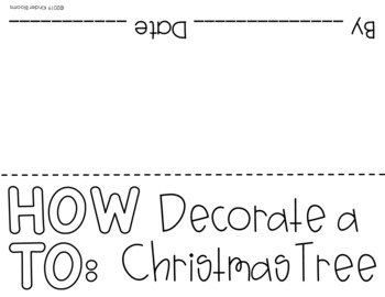 Expository Writing and How To Writing {Christmas}