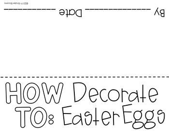Expository Writing and How To Writing {Easter}