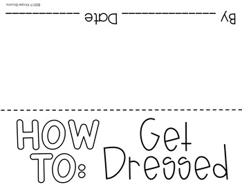 Expository Writing and How To Writing {Get Dressed}
