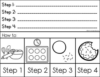 Expository Writing and How To Writing {Making Cookies}