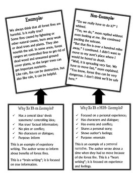 Expository Writing at a Glance