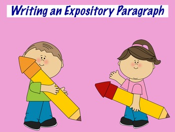 Expository Writing flipchart