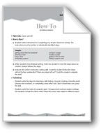 Expository and Descriptive Writing (Ten-Minute Activities)