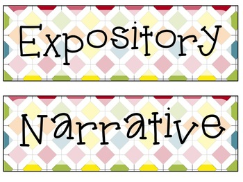 Expository and Narrative Writing Prompts