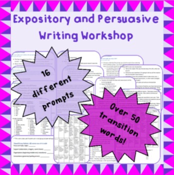 Expository and Persuasive Essay Writing Workshop