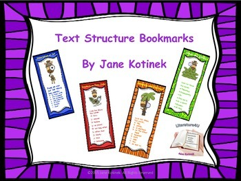 Text Structure Bookmarks