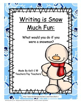 If You Were A Snowman Creative Writing Activity
