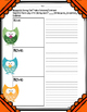 Owls Expository or Persuasive Writing Resource with Graphi