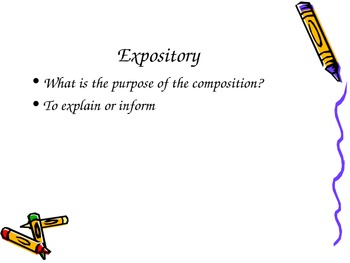 Expository vs. Personal Narrative PowerPoint