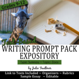 Explanatory Writing Prompt Pack, Analytic Summary: Dangers of Zoos
