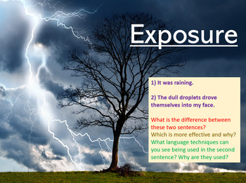 Exposure - Power and Conflict