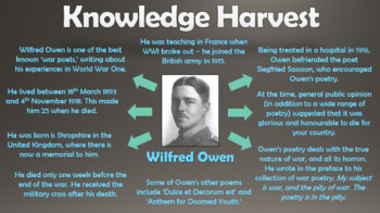 Exposure - Wilfred Owen (WWI War Poem)