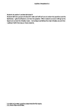 Expresate 1 Capítulo 3 Lección 1 Practice
