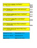 Expresate 1 Capítulo 4 Tener Venir Ask Answer Trade 5 Minu