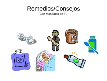 Expresate 2 Chapter 4 Remedios/Consejos Review