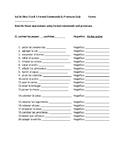 Así Se Dice 3 Chapter 1 Formal Commands and Pronouns Quiz