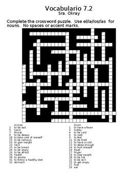 Expresate 7.2 Crossword